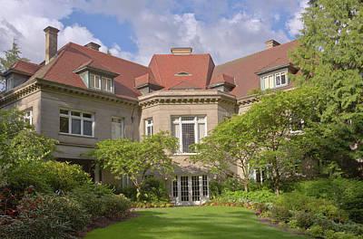 Pittock Mansion And Garden Portland Oregon. Original by Gino Rigucci