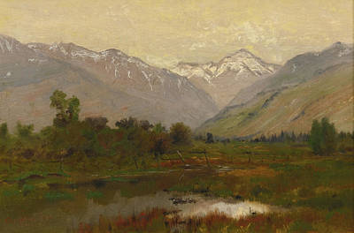 Charles River Painting - Platte River Valley by Charles Partridge