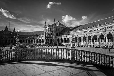 Photograph - Plaza De Espana. Seville by Jenny Rainbow