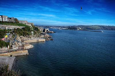 Photograph - Plymouth Coastline by Chris Day
