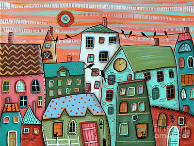 For Sale Painting - 2 Pm by Karla Gerard