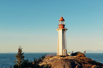 Photograph - Point Atkinson Light House by Songquan Deng