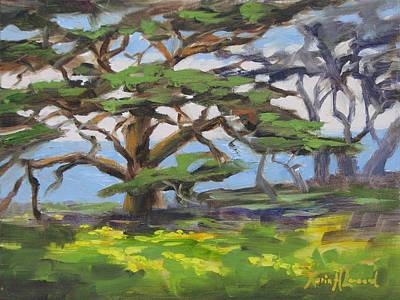 Point Lobos Spring Original by Karin Leonard