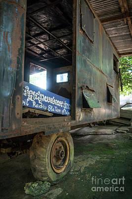 Photograph - Pol Pot Mobile Khmer Rouge Radio Station Anlong Veng Cambodia by Jacek Malipan