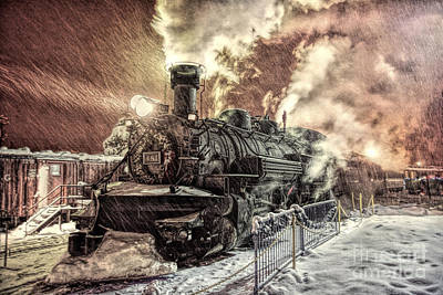 Colorado Photograph - Polar Express. Durango, Colorado #1 by George Robinson