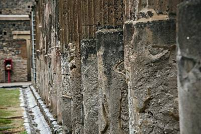 Photograph - Pompeii Italy by Cendrine Marrouat
