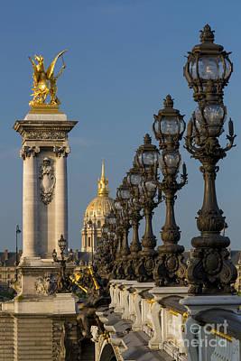 Photograph - Pont Alexandre IIi by Brian Jannsen