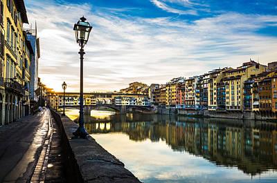 Photograph - Ponte Vecchio by Alfio Finocchiaro