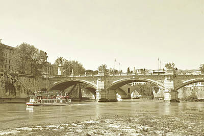 Photograph - Ponte Vittorio Emanuele II by JAMART Photography