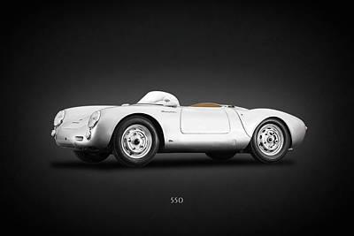 Photograph - Porsche 550 by Mark Rogan