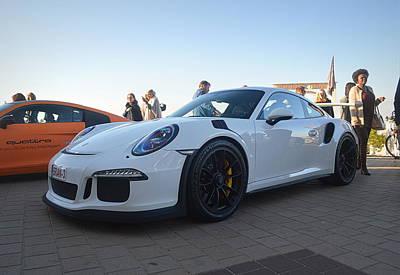 Track Photograph - Porsche 911 Gt3rs by Sportscars OfBelgium