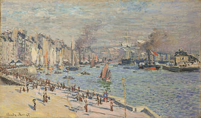 Painting - Port Of Le Havre by Claude Monet