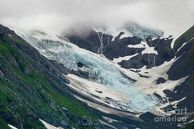 Photograph - Portage Lake And Glacier by Richard Smith