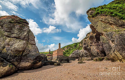 Porth Wen Photograph - Porth Wen Brickworks by Adrian Evans