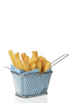 Potato Chips Photograph - Portion Of Chips by Amanda Elwell