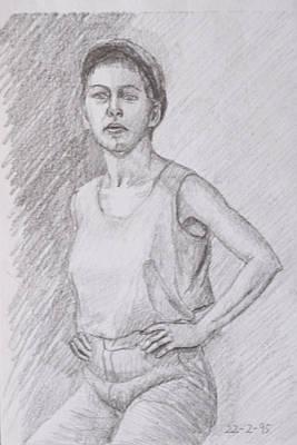 Subtle Drawing - Portrait by Masami Iida