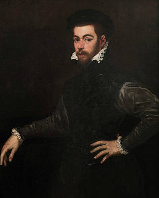 Painting - Portrait Of A Gentleman by Tintoretto