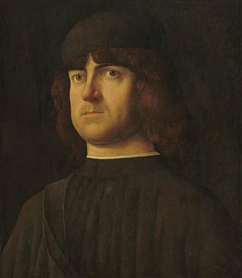 Painting - Portrait Of A Man by Alvise Vivarini