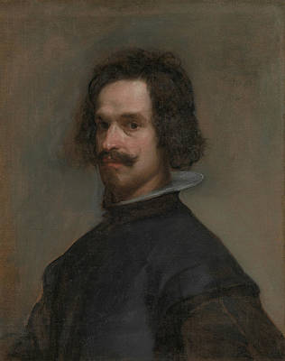 Painting - Portrait Of A Man by Diego Velazquez