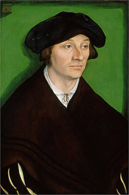 Painting - Portrait Of A Man by Lucas Cranach the Elder