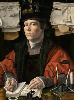 Painting - Portrait Of A Merchant by Jan Gossaert