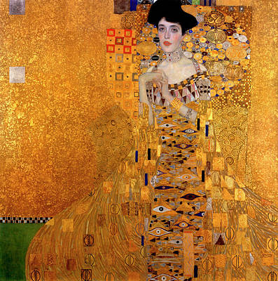 Adele Wall Art - Painting - Portrait Of Adele Bloch-bauer by Gustav Klimt