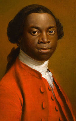 African American Painting - Portrait Of An African by Allan Ramsay