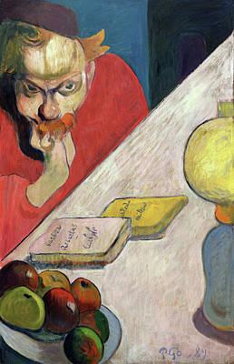 Fruit Painting - Portrait Of Jacob Meyer De Haan by Paul Gauguin
