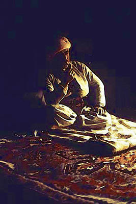 Painting - Portrait Of Melle Mutafa Barzani by Celestial Images