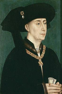 Portrait Painting - Portrait Of Philip The Good by Rogier van der Weyden