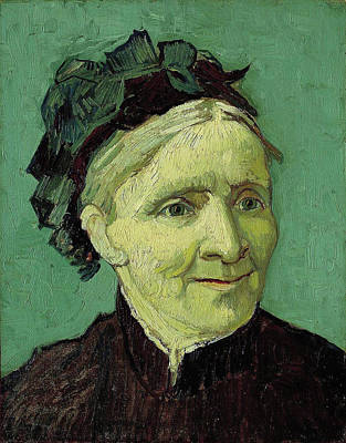 Netherlands Painting - Portrait Of The Artist's Mother by Vincent van Gogh