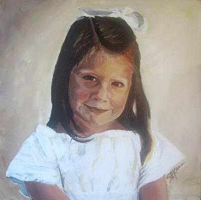 Painting - Portrait by Sarah LaRose Kane