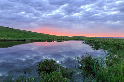 Photograph - Prairie Sunrise by Jack Bell