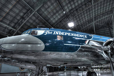 Presidential Aircraft, Douglas, Vc-118, The Independence  Art Print