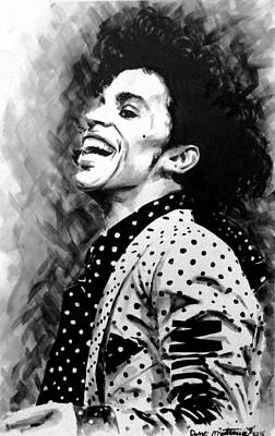 Art Print featuring the painting Prince by Darryl Matthews