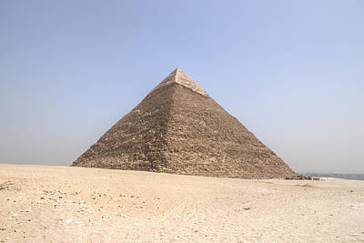 Camel Photograph - Pyramid Of Khafre - Egypt by Joana Kruse
