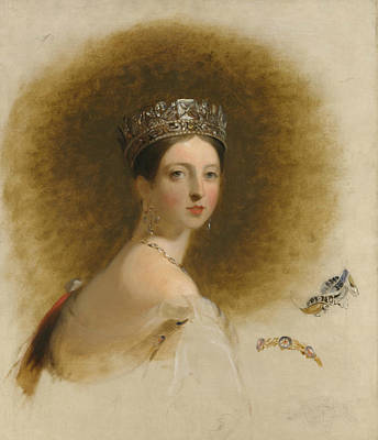 Painting - Queen Victoria by Thomas Sully
