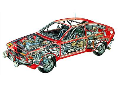 Reformer Digital Art - Race Car by Carmine Danhauer