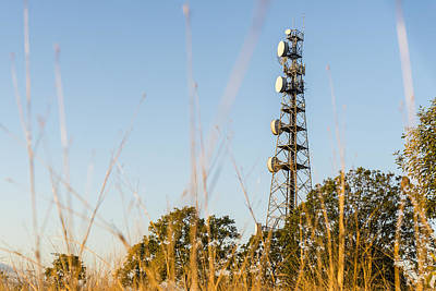 Radio Tower In Queensland Art Print by Rob D