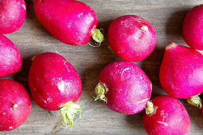 Royalty-Free and Rights-Managed Images - Radishes by Tom Gowanlock