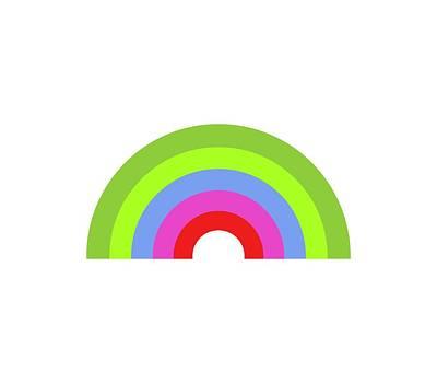 Illustration Digital Art - Rainbow by Marco Livolsi