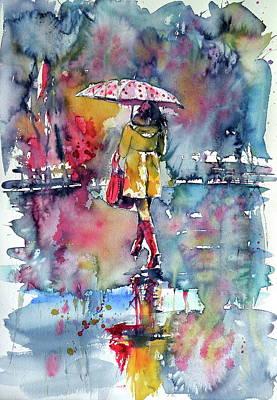 Painting - Rainy Day by Kovacs Anna Brigitta