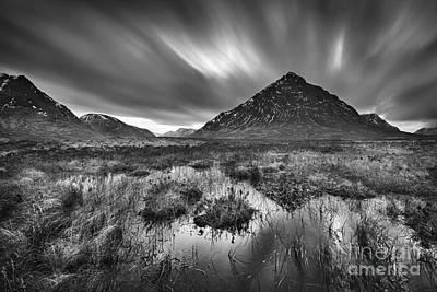 Buachaille Etive Mor Photograph - Rannoch Moor by Rod McLean