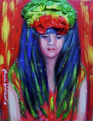 Painting - Rasta Girl by Wanvisa Klawklean