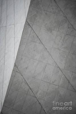Photograph - Raw Grey Concrete Abstract Minimal Background by Jacek Malipan