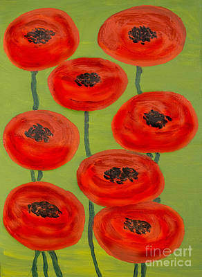 Painting - Red Poppies by Irina Afonskaya