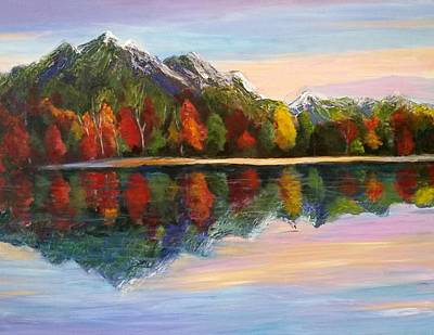 Painting - Reflections by Rosie Sherman