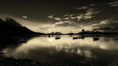 China Cove Photograph - Reflective Serenity by Carloyuen