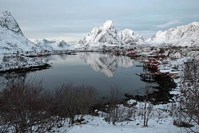 Art Print featuring the photograph Reine, Lofoten 4 by Dubi Roman