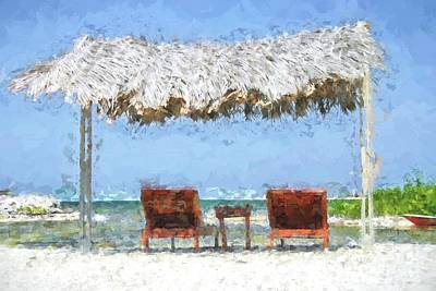 Digital Art - Relaxing  Holiday by Patricia Hofmeester